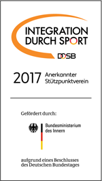 Logo Integration durch Sport